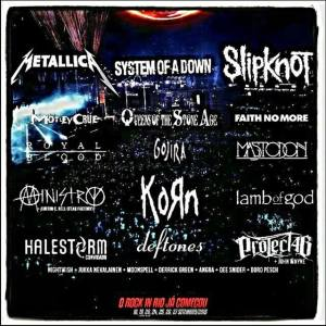Ministry play Rock In Rio September 19, 2015