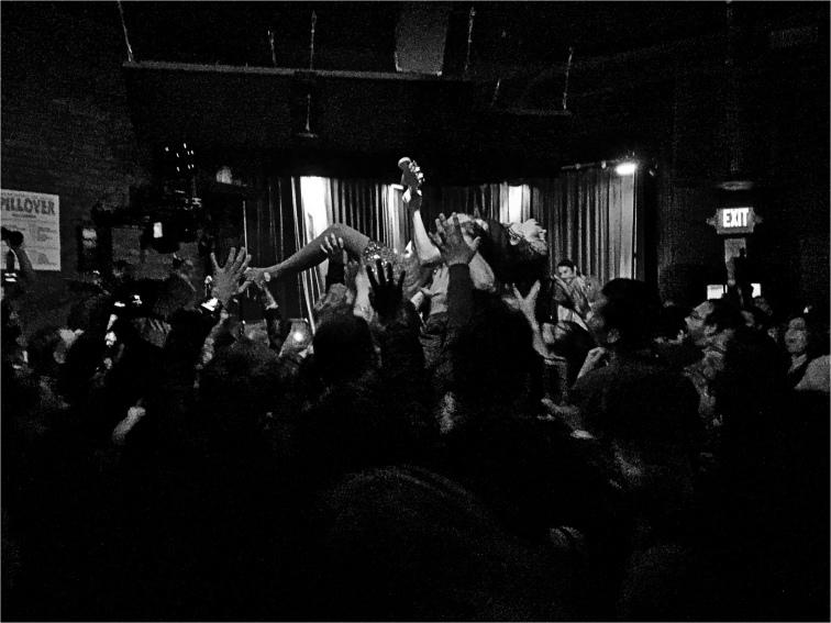 Le Butcherettes Live @ Club Dada - 3/18/16, Photo by J. Kevin Lynch