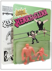 Henry & Glenn Comic, Action Figure