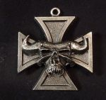 Danzig Iron Cross Necklace