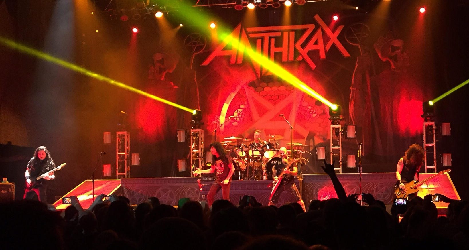 Anthrax @ House Of Blues, Dallas. Photo By J. Kevin Lynch.