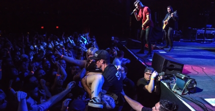 Dance Gavin Dance. Photo by Brently Kirksey.