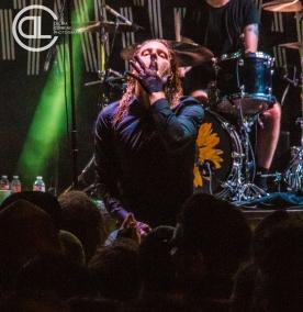 Deafheaven @ Gas Monkey Bar n' Grill, Dallas, TX. Photo by DeLisa McMurray.