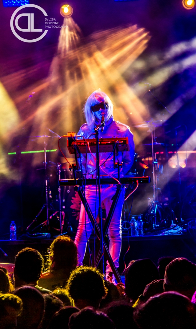 Drab Majesty @ Gas Monkey Bar n' Grill, Dallas, TX. Photo by DeLisa McMurray.