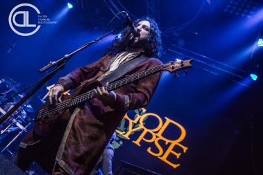 Fleshgod Apocalypse @ Gas Monkey Live, Dallas, TX. Photo by DeLisa McMurray.