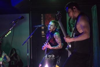 Adakain @ Ridglea Metal Fest. Photo by Brently Kirksey.