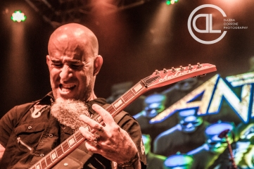 Anthrax @ Gas Monkey Live, Dallas, TX. Photo by DeLisa McMurray.