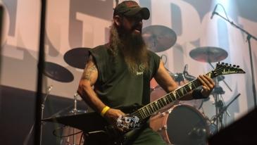 Big Iron @ Ridglea Metal Fest. Photo by Brently Kirksey.