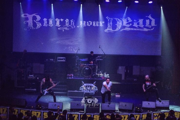 Bury Your Dead @ Ridglea Metal Fest. Photo by Brently Kirksey.