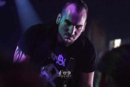 Dispositions @ Ridglea Metal Fest. Photo by Brently Kirksey.