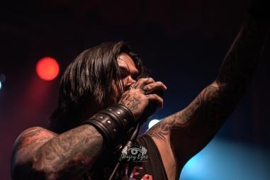 Drowning Pool @ Ridglea Metal Fest. Photo by Brently Kirksey.