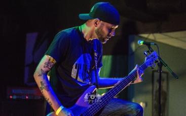 Homesick Alien @ Ridglea Metal Fest. Photo by Brently Kirksey.