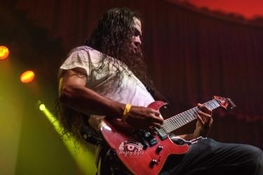 Leroy the Prophet @ Ridglea Metal Fest. Photo by Brently Kirksey.