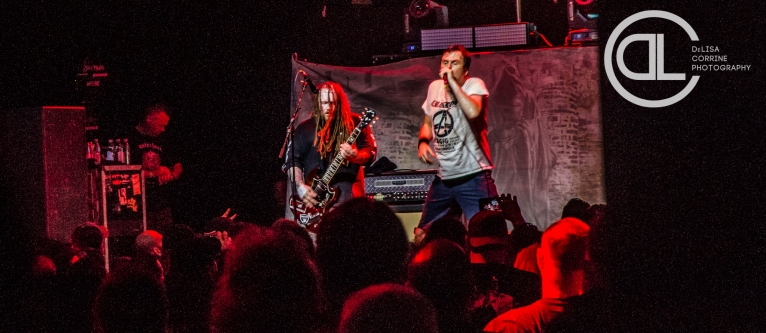 Napalm Death @ Gas Monkey Live, Dallas, TX. Photo by DeLisa McMurray.
