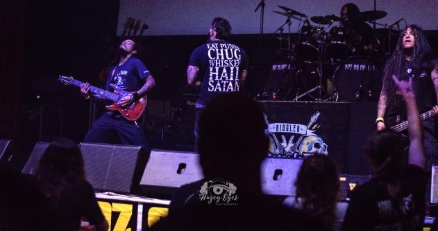 Not My Master @ Ridglea Metal Fest. Photo by Brently Kirksey.