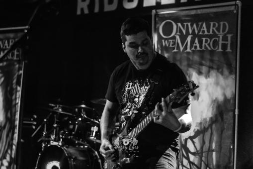 Onward We March @ Ridglea Metal Fest. Photo by Brently Kirksey.