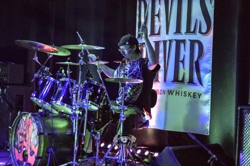 Sylo @ Ridglea Metal Fest. Photo by Brently Kirksey.