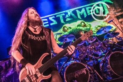 Testament @ Gas Monkey Live, Dallas, TX. Photo by DeLisa McMurray.