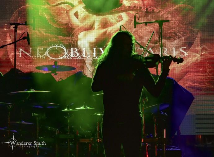 Ne Obliviscaris @ Gas Monkey Bar n' Grill, Dallas, TX. Photo by Corey Smith.