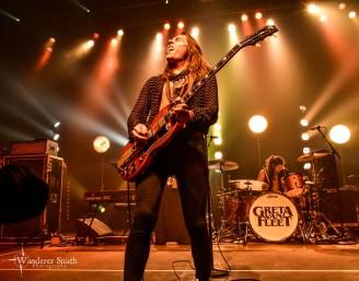 Greta Van Fleet @ South Side Ballroom, Dallas, TX. Photo by Corey Smith.