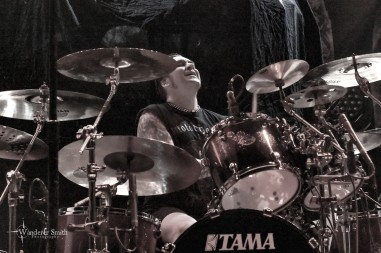 At the Gates @ House of Blues, Dallas, TX. Photo by Corey Smith.