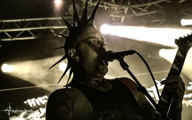 The Casualties @ Gas Monkey Live, Dallas, TX. Photo by Corey Smith.