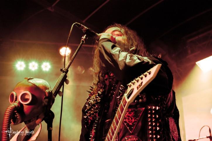Soulfly @ Gas Monkey Bar n' Grill, Dallas, TX. Photo by Corey Smith.