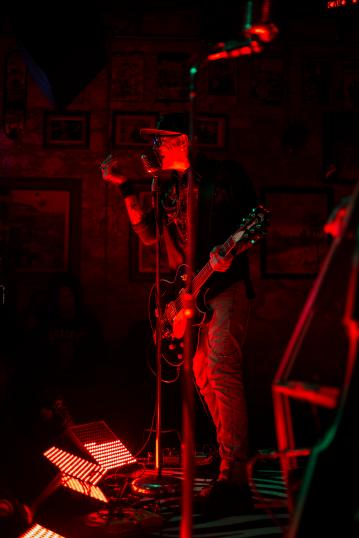 The Flametrick Subs @ Three Links, Dallas, TX. Photo by Carson Allen.